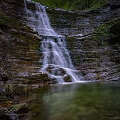 waterfall by wachter972 #nature #mothernature #travel #traveling #vacation #visiting #trip #holiday #tourism #tourist #photooftheday #amazing #picoftheday