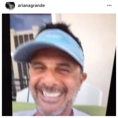 Ariana grande and her dad