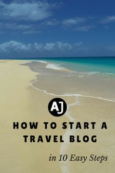 After more than 2 and a half years on the road, our blog now allows us to explore the planet indefinitely. Do you want to do the same? These 10 easy steps will show you how to start a travel blog of your own.Every month we receive quite a few ...