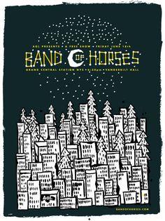 Band of Horses Free Show at Grand Central Tomorrow