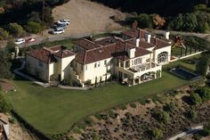 Faith Hill and Tim McGraw's house in Beverly Hills, CA--November 6, 2003
