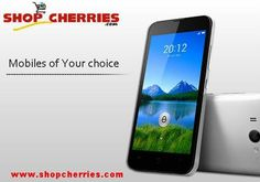 Wide Range of Phones. Only on http://www.shopcherries.com/mobile.html