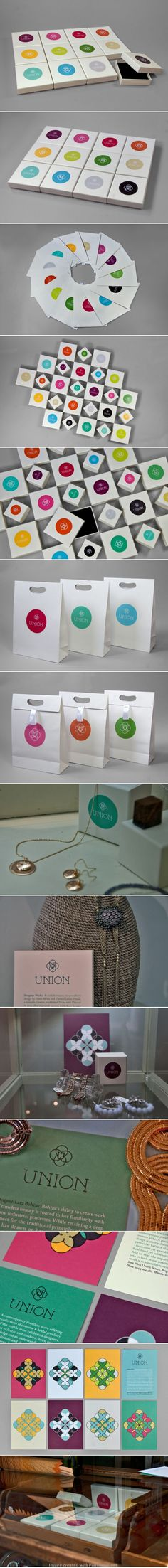 Union jewellery identity packaging branding by Red Design PD