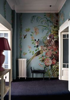 24/02/2015 - Wall&Decò has presented new contemporary wallpaper collection. From charcoal drawing to wall painting, from fab