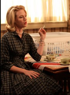 betty draper costume. minus the smoking