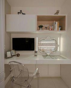 Interiores e Arquitetura ( Bedroom Seating, Bedroom Decor, Bedroom Ideas, Study Table Designs, New Room, Home Office, Diy Home Decor, House Design, Interior Design