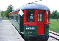 Fox River Trolley Museum Sat. in June-labor day(11am-5pm). Sun. may throught Nov 2 (11am-5pm)