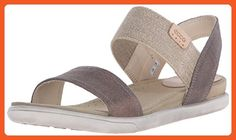 Ecco Footwear Womens Damara Ankle Gladiator Sandal, Warm Grey, 39 EU/8-8.5 M US - Sandals for women (*Amazon Partner-Link)
