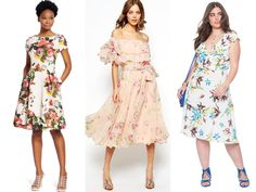 Guest Attire: Floral Dresses Perfect for Summer Weddings    TheKnot.com