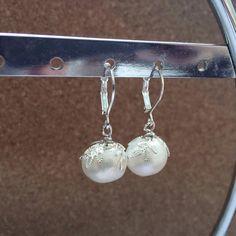 Handmade Genuine Jumbo Baroque Pearl 925 Sterling by LindyTea