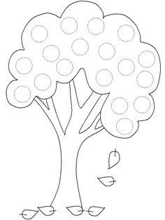 Patchwork molde árvore