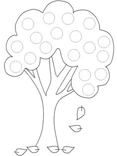 spark math How many apples on the tree? apple tree templates