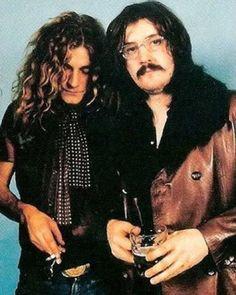 Robert Plant, Jimmy Page, John Bonham & John Paul Jones Jimmy Page, Robert Plant Led Zeppelin, Rock Roll, Great Bands, Cool Bands, Heavy Metal, John Paul Jones, John Bonham, Blues