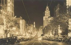 Collins Street in Melbourne, Australia, during the Centenary celebrations in 1934 Time In Australia, Melbourne Australia, Melbourne Victoria, Victoria Australia, History Photos, Historical Photos, Old Photos, Places To Visit, Street