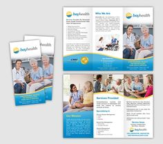 Create the next brochure design for Bayhealth Inc by Rochelledesign