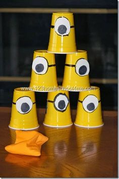 Despicable Me Activities for party or family night