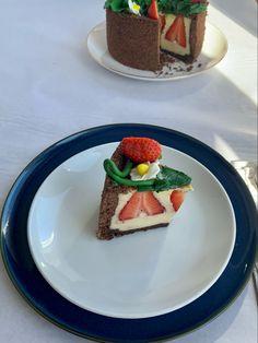 Tarta de fresas Waffles, Cheesecake, Breakfast, Desserts, Food, Pies, Deserts, Strawberry Fruit, French Tips