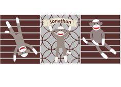 Sock Monkey Art Prints matches Sock Monkey by LittlePergola, $49.00