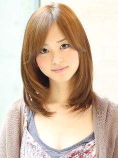 Haircuts For Medium Hair, Cool Hairstyles For Girls, Long Bob Hairstyles, Medium Hair Cuts, Medium Hair Styles, Short Hair Styles, Japanese Haircut, Japanese Hairstyle, Cut My Hair