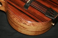 Beautiful bevel work by Batson Guitars.