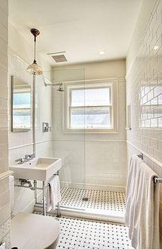 Voor het geval er toch ergens een kleinere badkamer is