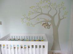 jungle/monkey baby room