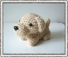 Amigurumi Dog Labrador Retriever by twistywish on Etsy, $12.50
