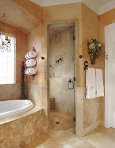 keller tx bathroom remodel project mediterranean bathroom dallas usi design remodeling - Tuscan Bathroom Design