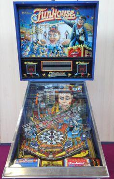 Funhouse Pinball Machine