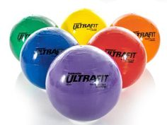 To move the stability ball past the opponent's scoring line by throwing foam balls at it. Gopher Sports, Good Arm Workouts, Net Games, Stability Ball, Physical Education, Four Square, Things That Bounce, Volleyball, Basketball