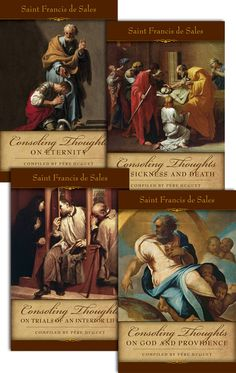 Consoling Thoughts of St. Francis de Sales: Set of Four by St. Francis de Sales & Pere Huget