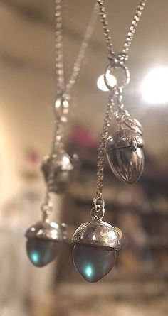 Saphiret pendants
