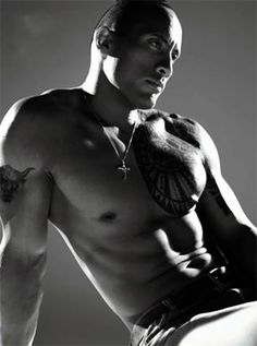The Rock.. I'll be seeing him in my dreams tonight lol @Brooke Retherford