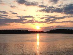 Lake Norman Sunset-  love Lake Norman!!