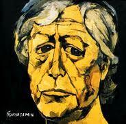 Oswaldo Guayasamin- Autorretrato 1963- Oleo sobre tela. Capilla del Hombre- Quito, Ecuador