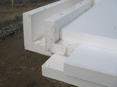 Prefabricated foam forms for slab foundations borrowing for Foam basement forms
