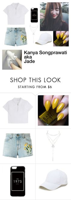 """""""Jade!!🍃"""" by acrylicgarden ❤ liked on Polyvore featuring Gucci, Charlotte Russe and Sole Society"""