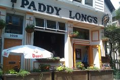 PADDY LONG'S BEER AND BACON PUB - Paddy Long's is a beer and bacon bar located at 1028 W. Diversey Pkwy. in Chicago, Illinois.  It features 18 beers on tap and specializes in all kinds of bacon.