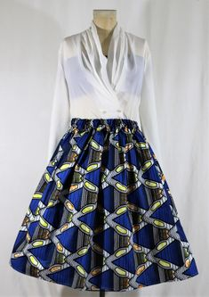 African Ankara Skirt Women's clothing Handmade Fashion DIY African Print Ankara Skirt Dashiki Skirt African Skirt Wedding Prom
