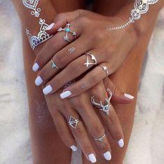 #WhiteNails Τα πιο όμορφα, καλοκαιρινά λευκά μανικιούρ του instagram