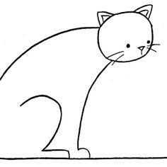 """""""Gato Estambre"""" es una obra del caricaturista, humorista gráfico e ilustrador mexicano de Jorge Penné."""