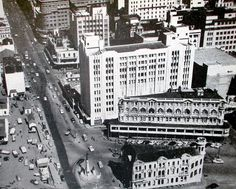 C.T.'s slimmest buildings c1949. Where the Absa centre stands today.