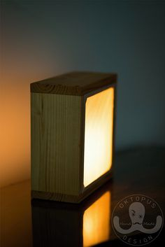 Light Box. Serenity lamp.
