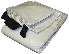 40 x 60 White  Black Reversible Extra Heavy Duty Tarp >>> See this great product.