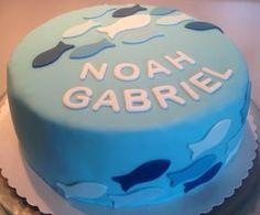Hannahs Kreativblog: Tauftorte für Noah