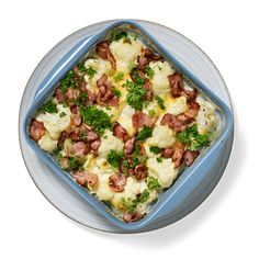 Potato Salad, Bacon, Food And Drink, Potatoes, Homemade, Yummy Yummy, Ethnic Recipes, Keto, Home Made