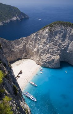 Shipwreck Beach of Navagio - Zakynthos The Tourist, Shipwreck, Filters, Beach, Water, Outdoor, Traveling, Instagram, Blue