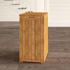 Winston Porter Edward Bamboo Cabinet Laundry Hamper & Reviews | Wayfair Bamboo Cabinets, Square Baskets, Laundry Hamper, Storage Organization, Metal, Design, Home Decor, Decoration Home, Room Decor