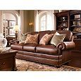 Thomasville Furniture Upholstery Leather Ashby Sofa Hs1459 11