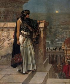 Queen Zenobia ruled the Palmyrene Empire in Roman Syria during the third century. When her husband (King Septimius Odaenathus) died, Zenobia took over. She fought the Romans, conquered Egypt and expanded her empire before eventually being defeated.